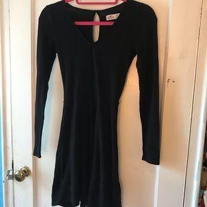 Hollister black sweater dress